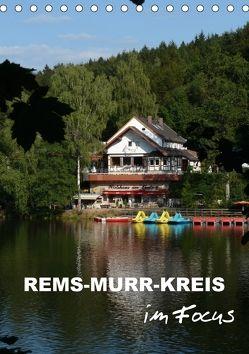 Rems-Murr-Kreis im Focus (Tischkalender 2018 DIN A5 hoch) von Huschka,  Klaus-Peter