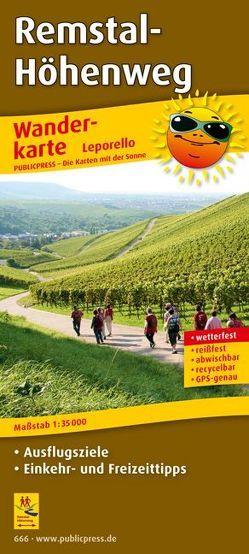 Remstal-Höhenweg, Fellbach – Remseck am Neckar