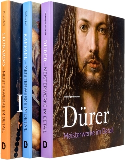 Renaissance-Meister im Detail SET (3 Bde.) von Borchert,  Till-Holger, Dürer,  Albrecht, Leonardo, Raffael, Zuffi,  Stefano