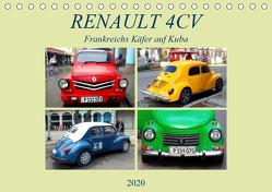 RENAULT 4CV – Frankreichs Käfer auf Kuba (Tischkalender 2020 DIN A5 quer) von von Loewis of Menar,  Henning