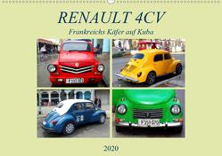 RENAULT 4CV – Frankreichs Käfer auf Kuba (Wandkalender 2020 DIN A2 quer) von von Loewis of Menar,  Henning