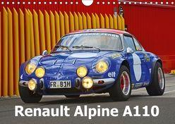 Renault Alpine A110 (Wandkalender 2018 DIN A4 quer) von Laue,  Ingo
