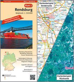 Rendsburg von BKG - Bundesamt für Kartographie und Geodäsie
