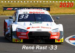 Rene Rast 33 (Tischkalender 2020 DIN A5 quer) von Gorges,  Tobias