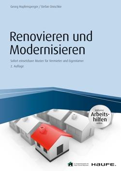 Renovieren und Modernisieren – inkl. Arbeitshilfen online von Hopfensperger,  Georg, Onischke,  Stefan
