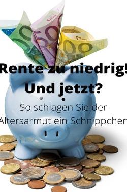 Rente zu niedrig? Und jetzt! von Schmitt,  Peter