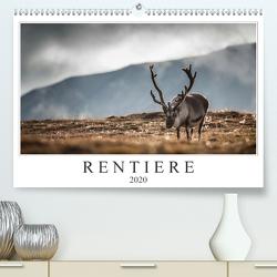 Rentiere (Premium, hochwertiger DIN A2 Wandkalender 2020, Kunstdruck in Hochglanz) von Worm,  Sebastian