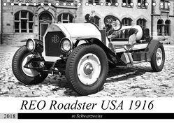 REO Roadster USA 1916 – in Schwarzweiss (Tischkalender 2018 DIN A5 quer) von Laue,  Ingo