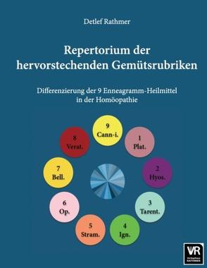 Repertorium der hervorstechenden Gemütsrubriken von Rathmer,  Detlef