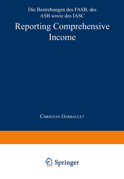 Reporting Comprehensive Income von Gerbaulet,  Christian