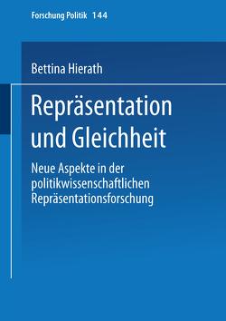 Repräsentation und Gleichheit von Hierath,  Bettina
