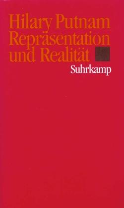 Repräsentation und Realität von Putnam,  Hilary, Schulte,  Joachim