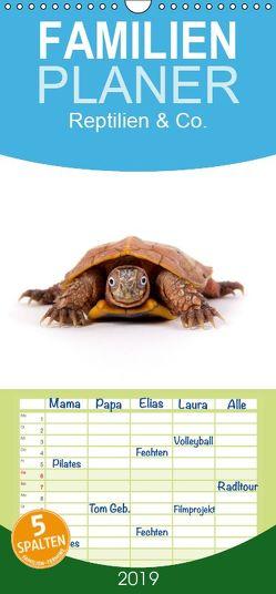 Reptilien & Co. – Familienplaner hoch (Wandkalender 2019 , 21 cm x 45 cm, hoch) von Moehlig,  Hans-Peter