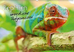 Reptilien urzeitliche Artgenossen (Wandkalender 2019 DIN A2 quer) von Mosert,  Stefan