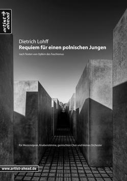 Requiem für einen polnischen Jungen – Chorpartitur von Lohff,  Dietrich