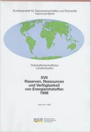 Reserven, Ressourcen und Verfügbarkeit von Energierohstoffen 1998