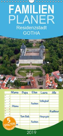 Residenzstadt GOTHA – Familienplaner hoch (Wandkalender 2019 , 21 cm x 45 cm, hoch) von & Kalenderverlag Monika Müller,  Bild-