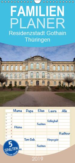 Residenzstadt Gotha in Thüringen – Familienplaner hoch (Wandkalender 2019 , 21 cm x 45 cm, hoch) von Flori0