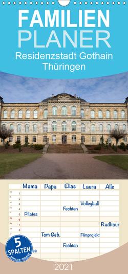 Residenzstadt Gotha in Thüringen – Familienplaner hoch (Wandkalender 2021 , 21 cm x 45 cm, hoch) von Flori0
