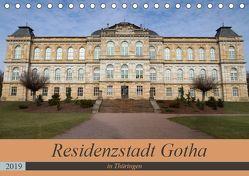 Residenzstadt Gotha in Thüringen (Tischkalender 2019 DIN A5 quer) von Flori0