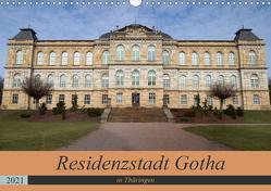 Residenzstadt Gotha in Thüringen (Wandkalender 2021 DIN A3 quer) von Flori0