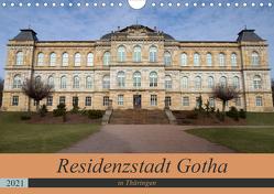 Residenzstadt Gotha in Thüringen (Wandkalender 2021 DIN A4 quer) von Flori0