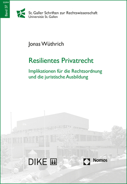 Resilientes Privatrecht von Wüthrich,  Jonas