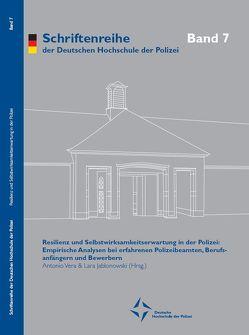 Resilienz und Selbstwirksamkeitserwartung in der Polizei von Jablonowski,  Lara, Vera,  Antonio