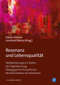 Resonanz und Lebensqualität von Hübner,  Edwin, Weiss,  Leonhard