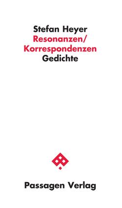 Resonanzen/Korrespondenzen von Heyer,  Stefan