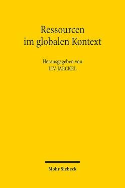 Ressourcen im globalen Kontext von Jaeckel,  Liv