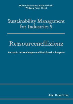 Ressourceneffizienz von Biedermann,  Hubert, Posch,  Wolfgang, Vorbach,  Stefan