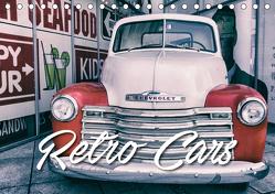 Retro Cars (Tischkalender 2019 DIN A5 quer) von Matschek,  Gerd