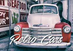 Retro Cars (Wandkalender 2019 DIN A2 quer) von Matschek,  Gerd
