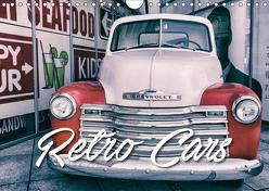 Retro Cars (Wandkalender 2019 DIN A4 quer) von Matschek,  Gerd