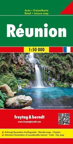 Réunion, Autokarte 1:50.000 von Freytag-Berndt und Artaria KG