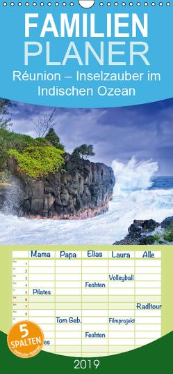 Réunion: Inselzauber im Indischen Ozean – Familienplaner hoch (Wandkalender 2019 , 21 cm x 45 cm, hoch) von CALVENDO