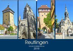 Reutlingen – Tor zur Schwäbischen Alb (Wandkalender 2019 DIN A2 quer) von Stoll,  Sascha