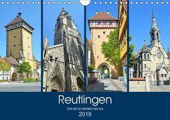 Reutlingen – Tor zur Schwäbischen Alb (Wandkalender 2019 DIN A4 quer) von Stoll,  Sascha