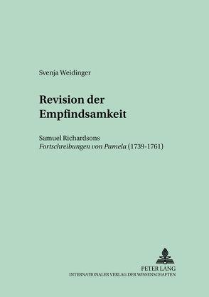 Revision der Empfindsamkeit von Weidinger,  Svenja