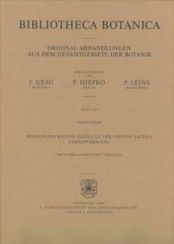Revision der Sektion Salsola S.L. der Gattung Salsola (Chenopodiaceae) von Rilke,  Sabrina