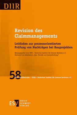 Revision des Claimmanagements von DIIR - Deutsches Institut für Interne Revision e. V.