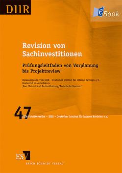 """Revision von Sachinvestitionen von DIIR – Arbeitskreis """"Bau,  Betrieb und Instandhaltung / Technische Revision"""""""