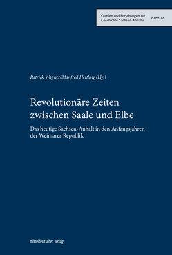 Revolutionäre Zeiten zwischen Saale und Elbe von Hettling,  Manfred, Wagner,  Patrick