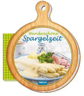 """Rezeptbrettchen """"Wunderschöne Spargelzeit"""" Kochbuch"""