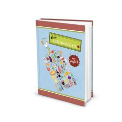 "Rezeptbuch ""Meine Lieblingsrezepte"" (Hardcover A5, Blankoseiten)"