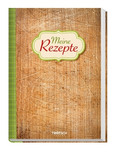 "Rezeptbuch ""Meine Rezepte"" Holz"
