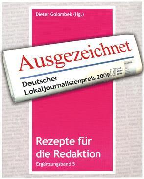 Rezepte für die Redaktion von Golombek,  Dieter