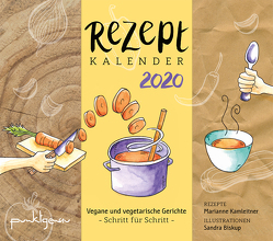 Rezeptkalender 2020 von Sandra,  Biskup