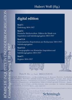 RG2, Römische Inquisition und Indexkongregation von Wolf,  Hubert